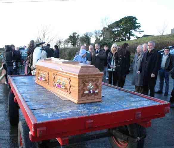 Pecker Dunne casket
